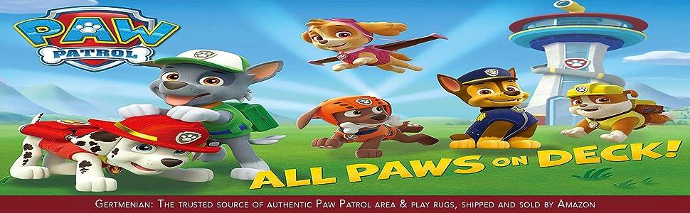 Amazon Com Gertmenian Nickelodeon Paw Patrol Juvenile