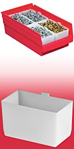 small parts drawer container bins for shelves shelving storage inventory desk caddy organizer bin