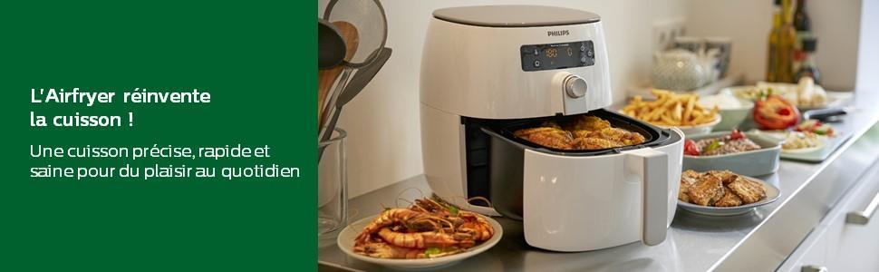 Friteuse- Découvrez une cuisson précise, rapide et saine pour du plaisir au quotidien