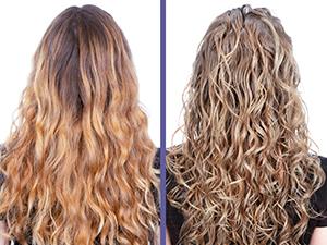 Color Extend Blondage prima e dopo