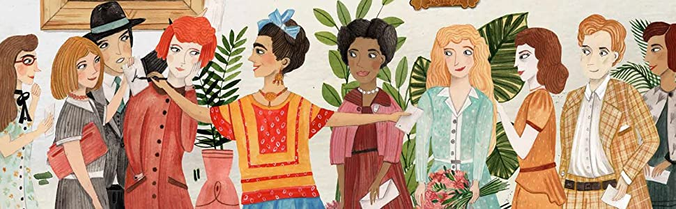 Frida was so happy to be back in Mexico, that she painted more than ever before.