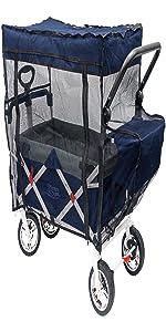 Amazon Com Creative Outdoor Distributor Push Pull Wagon