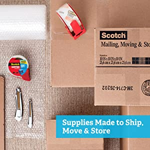 Supplies Made to Ship, Move & Store