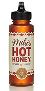 12 oz squeeze bottle mike's hot honey hot sauce sweet