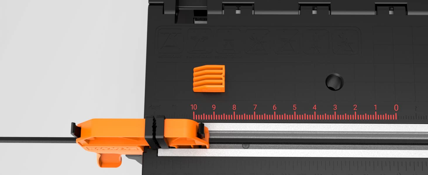 Built-In Measuring Guides