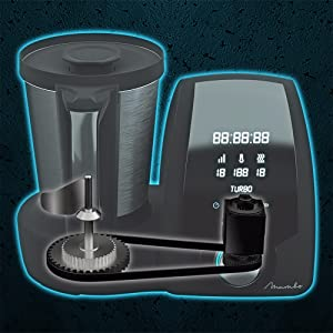 Cecotec Robot de Cocina Multifunción Mambo Black. Capacidad de 3 ...