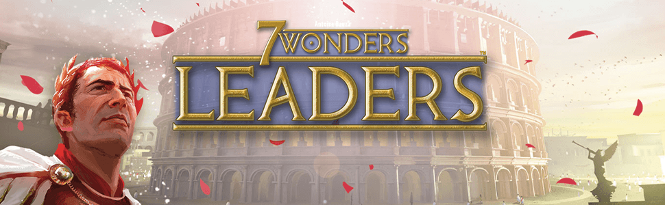 Repos Production- 7 Wonders: Leaders - Varios Idiomas, Color (Asmodee RP7WEX01): Amazon.es: Juguetes y juegos