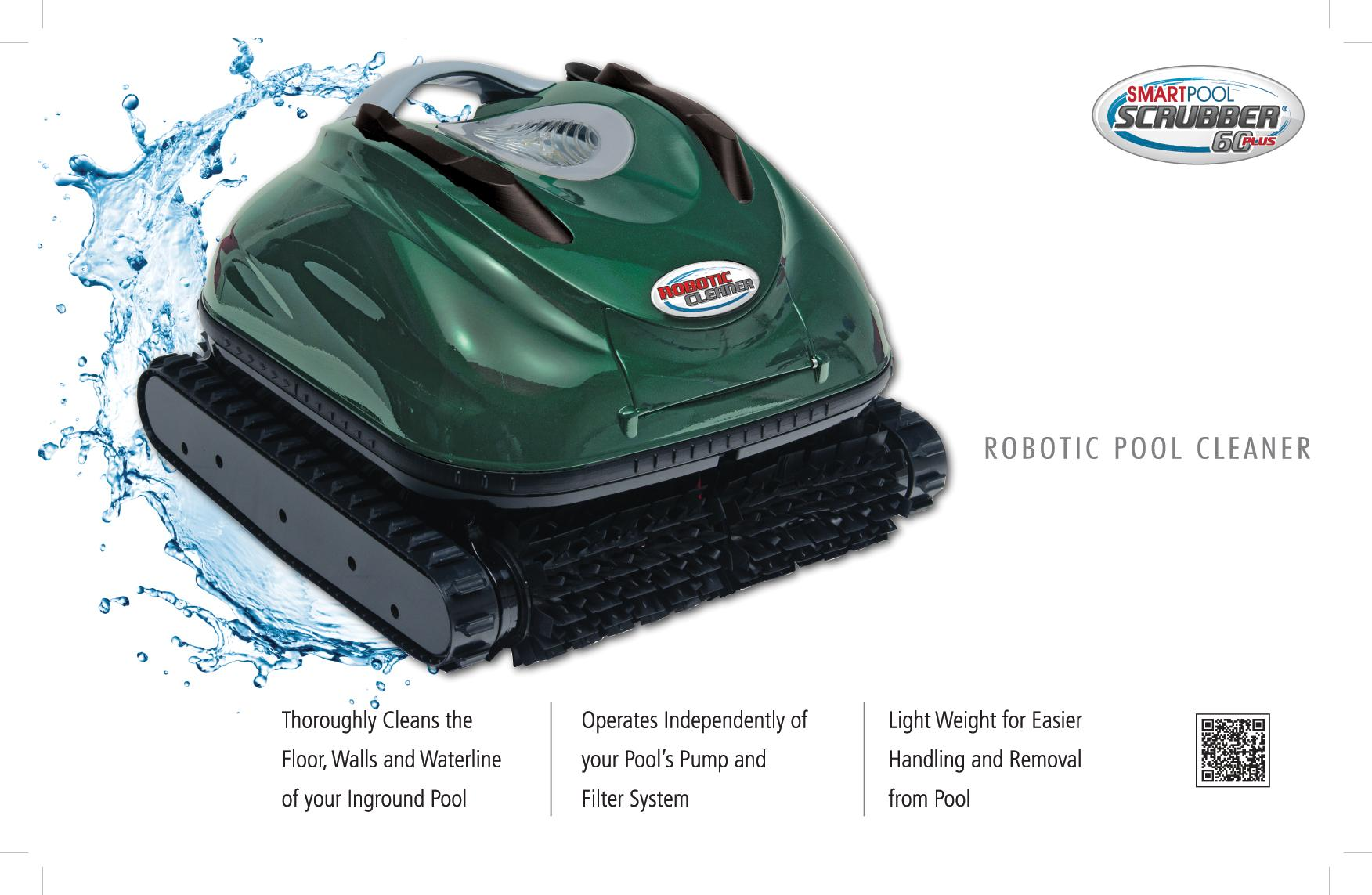 Amazon Com Smartpool Nc74 Scrubber 60 Plus Robotic Pool