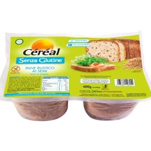 Pane senza glutine cereal, pan bauletto ai semi, pane rustico senza glutine