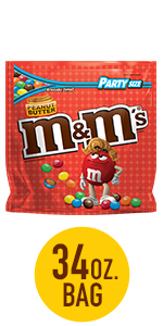 M&M'S Peanut Butter Candy Party Size Bag