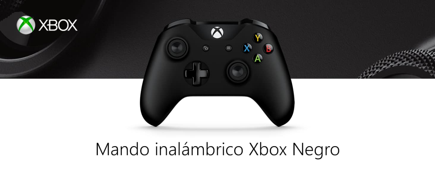 Microsoft - Mando Inalámbrico, Color Negro (Xbox One), Bluetooth ...