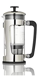 Espro Press P5 Coffee French Press Pot Cafetiere Manual Coffeemaker Brewer Stainless Glass