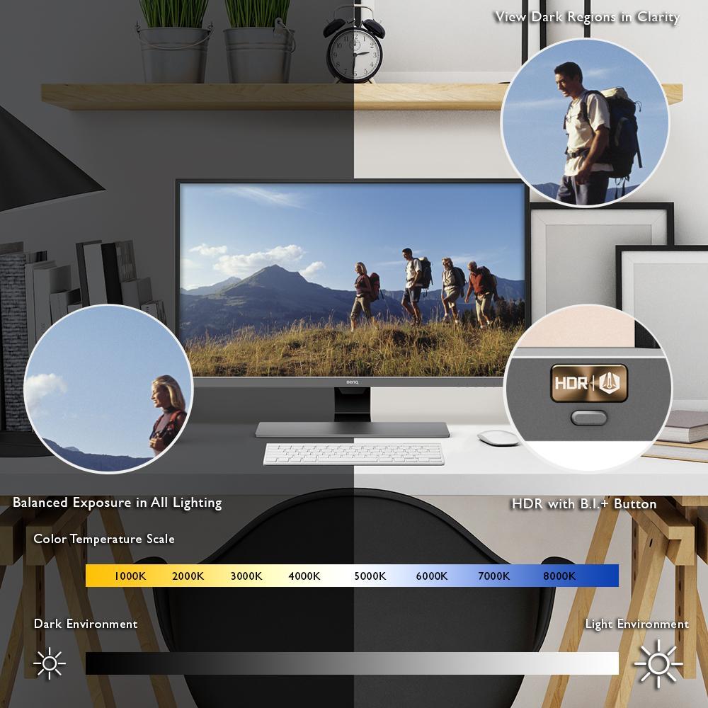 BenQ EL2870U 28 inch HDR 4K Gaming Monitor | Optimized for Gaming