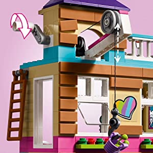 Amazoncom Lego Friends Friendship House 41340 Kids Building Set