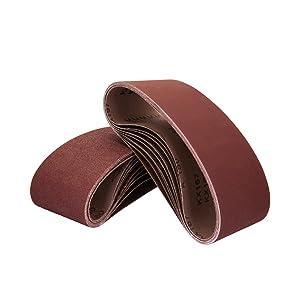 10er-set Klingspor Long Sanding Belts ls307x Gritp40-p180dimensions selectable