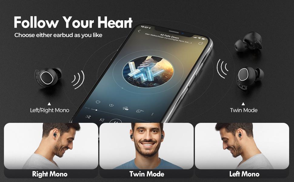 wireless earbuds, bluetooth earbuds, sport earbuds, workout headphone, wireless bluetooth earphones