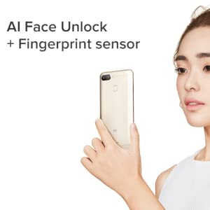 AI face unlock and Finger Print Sensor