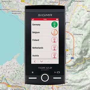 Sigma Sport Rox 12.0 Sport Ciclocomputador con navegación GPS ...