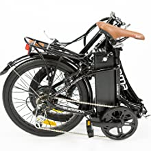 Moma Bikes E- Bike 20.2 Bicicleta Plegable electrica, Adultos ...