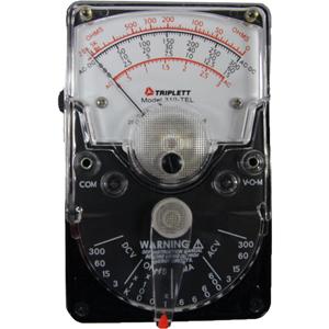 analog multimeter with overload protection