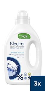 Neutral Vloeibaar Wasmiddel Wit