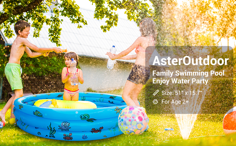 family inflatable swimming pool Kids Pool