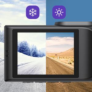 dual dash cam with cabin camera