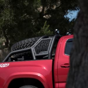 Armordillo USA 7180352 CR1 Tire Carrier For Full Size Trucks Attachment for CR1 Chase Rack Part# 7180338