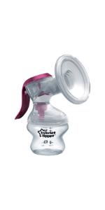 manual breast pump, tommee tippee, breastfeeding