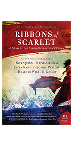 Ribbons of Scarlet, French  History, Historical Fiction, French Revolution, Women's Fiction