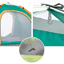 pop up tent ventilation