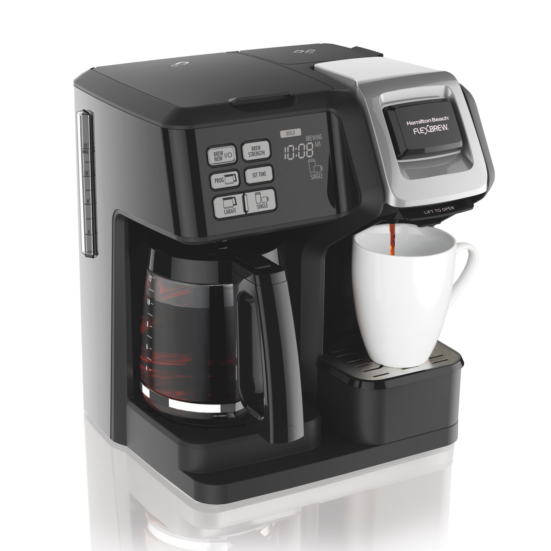 77adf756 b940 4934 9919 0e87b1f80681 Dual Coffee Maker K Cup Coffee Consumers Dual Coffee Maker Black