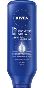 moisturiser, shower, almond, almond oil, body lotion, body moisturiser