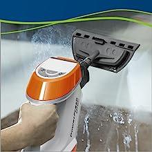 steam mop, mop, steam cleaner, lift off, hard floor, wood floor, tile, grout, handheld steamer