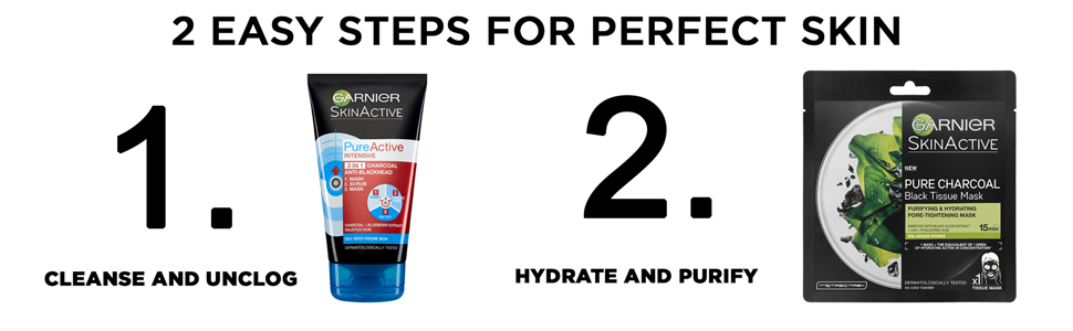 2 Easy Steps for Perfect Skin