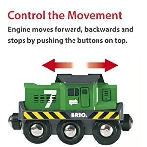 BRIO 33214 Freight Battery Engine