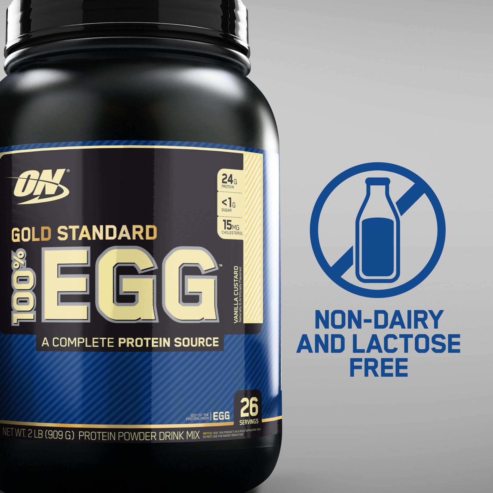 Amazon Com Optimum Nutrition 100 Egg Protein Rich Chocolate 2
