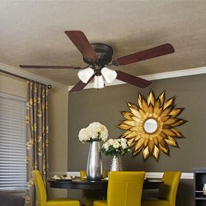 Design house 156018 millbridge 3 light ceiling fan 52 satin the design house millbridge 52 hugger fan aloadofball Images