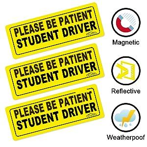 student driver magnet