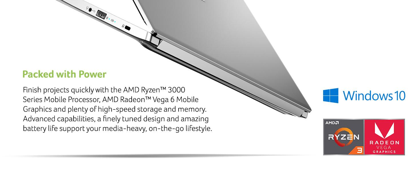 amd ryzen 3000 series 3 processor vega radeon 6 mobile graphics edit photo video pictures work home