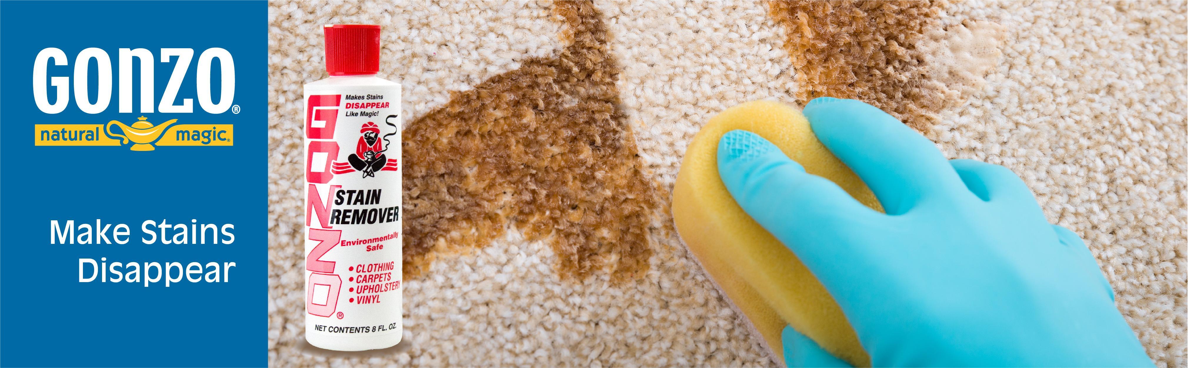 amazon com gonzo natural magic stain remover non toxic carpet