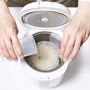 poddi ポッディ 炊飯器 ソフトスチーム ソフトスチーム米 高速 小型 SS SS米 SS白米 すいはんき ぽっでぃ PODDI 早炊き 10分 10分