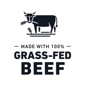 100% grass-fed beef