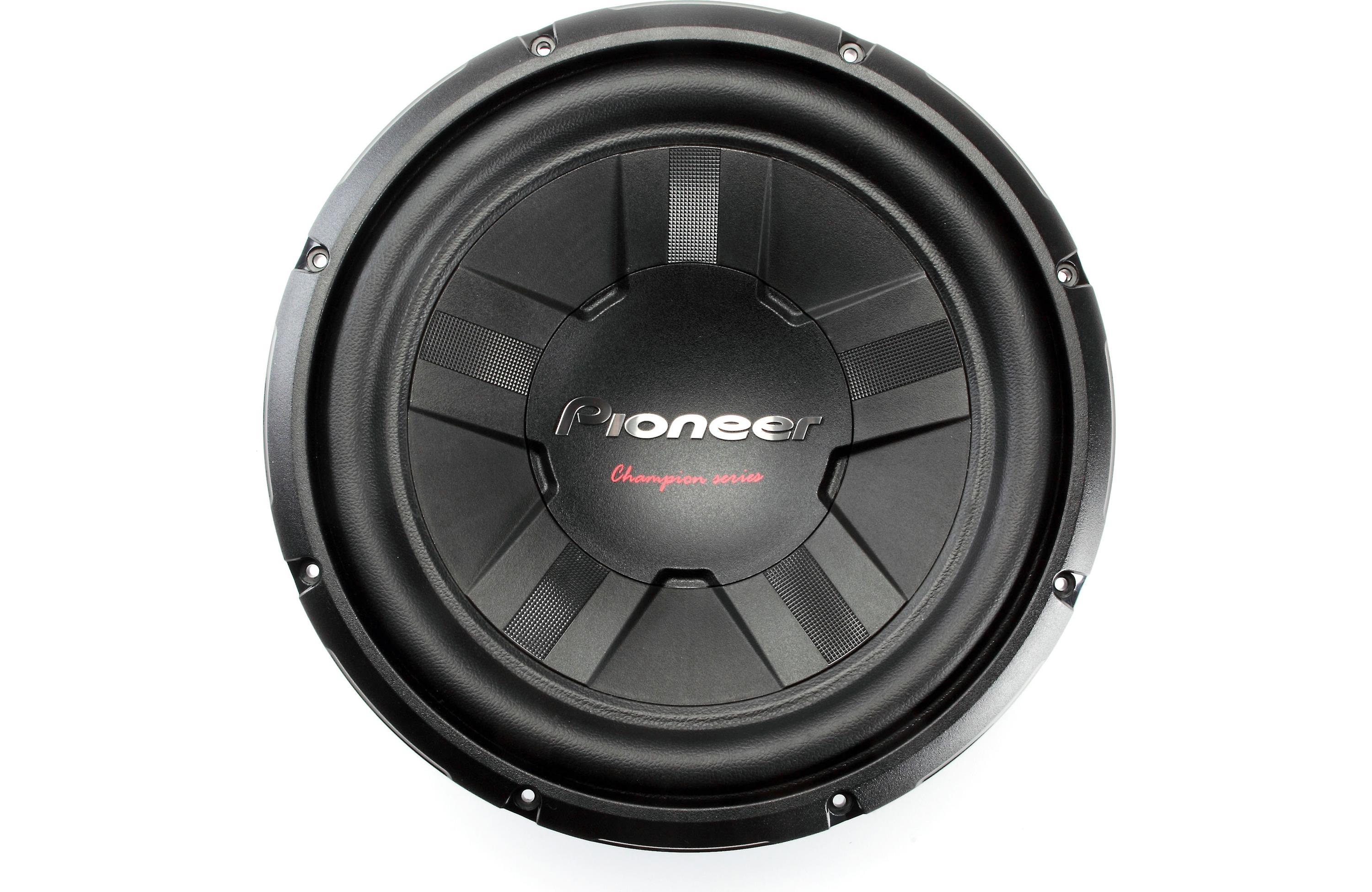 Pioneer Tsw311d4 12 Inch 1400 Watt Dual Voice Coil Dvc How To Wire Sub View Larger