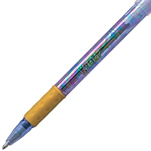 barrel, pentel, krazy, pop, pen, sparkle