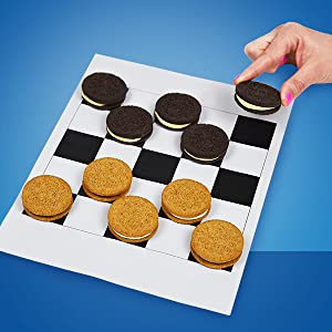 Kids, lunch, office, groceries, Kosher, pantry, Oreo checkers