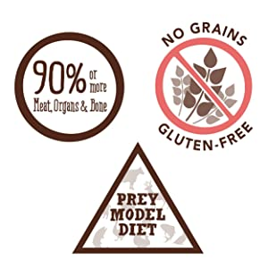prey diet, cage-free, grass-fed, wild-caught, freeze dried, raw dog food