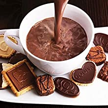 Amazon Com Godiva Chocolatier Milk Chocolate Hot Cocoa Canister 13 1oz Hot Cocoa Mixes Grocery Gourmet Food