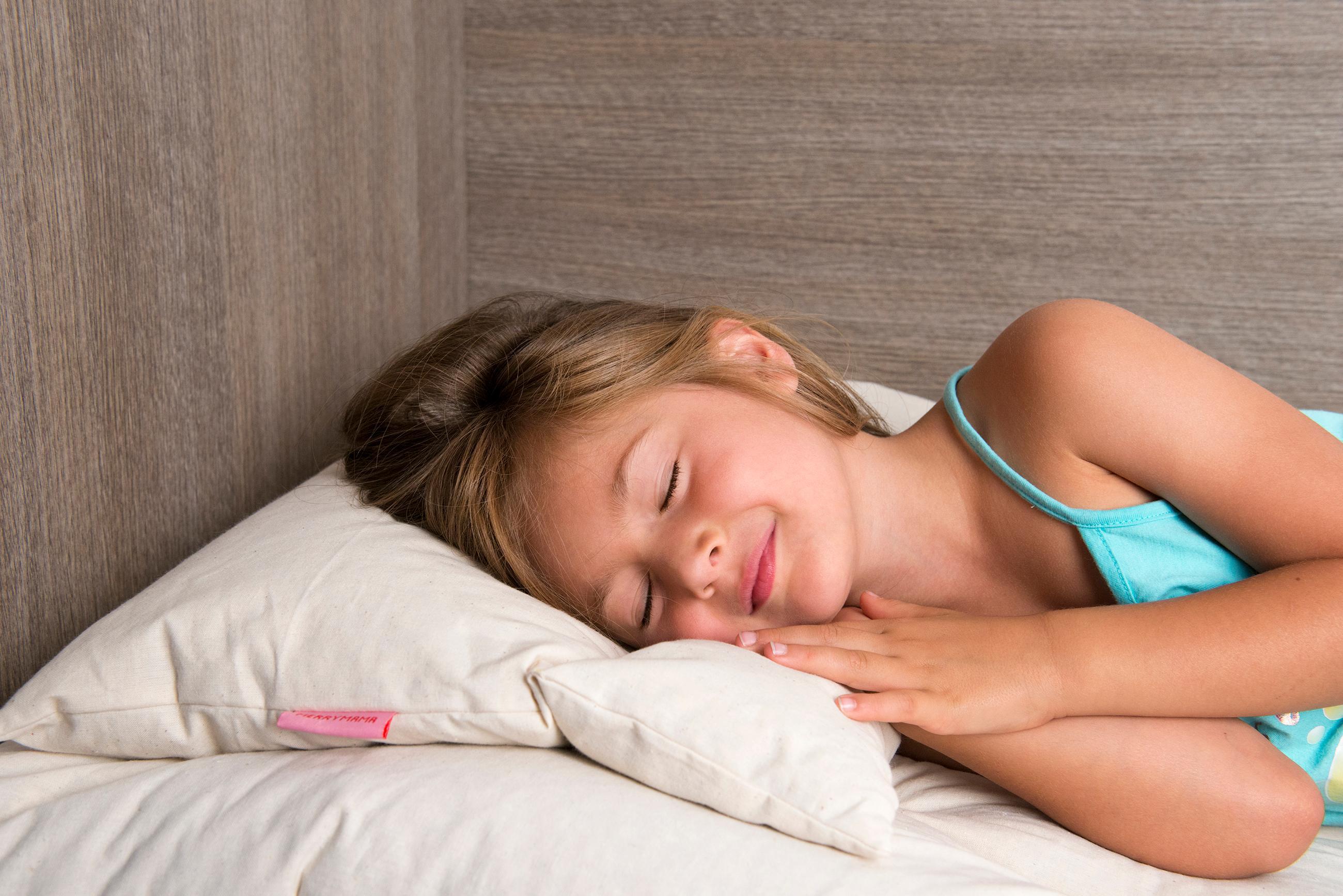 Merrymama cuscino guanciale lettino in pula di farro biologica cm