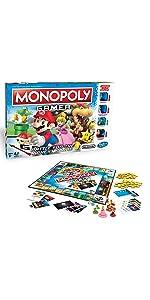 ゲーム, パーティ ゲーム,モノポリー,monopoly,対戦,マリオ